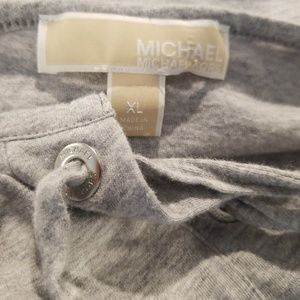 Michael Kors Tops - Michael Kors gray shirt XL